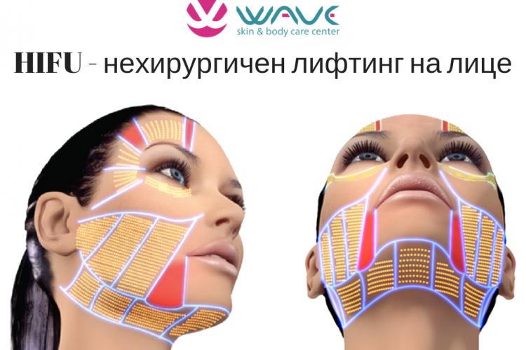 HIFU лифтинг за лице и тяло