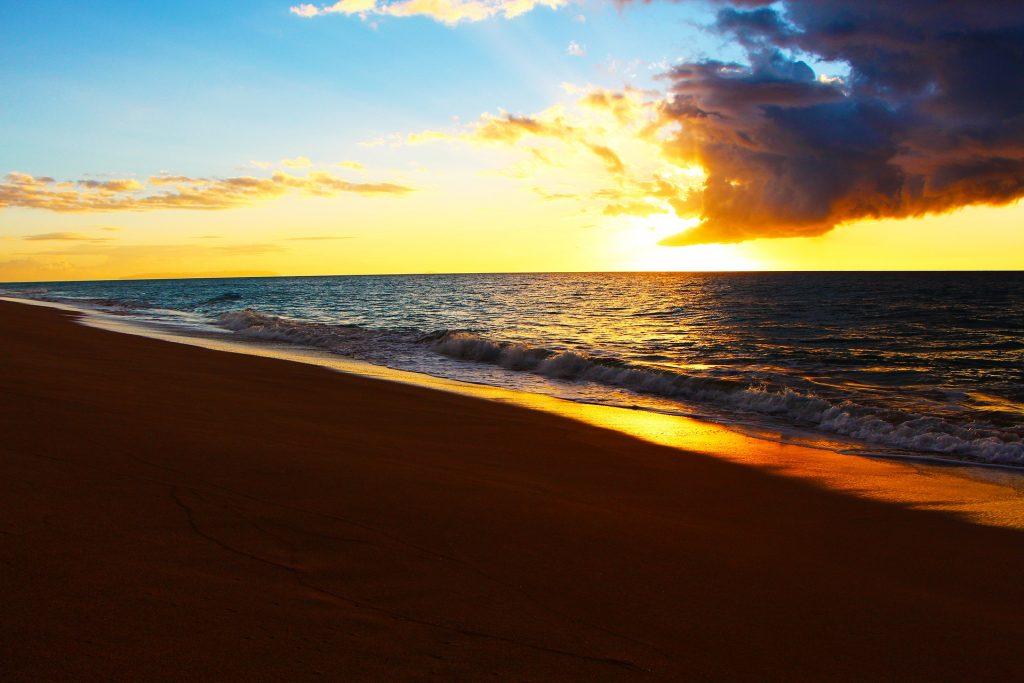 Плаж Полихале, ХАВАЙ, САЩ